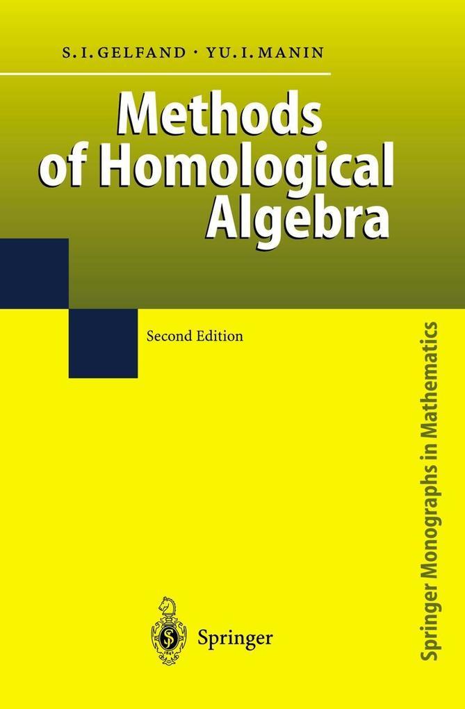 Methods of Homological Algebra als Buch
