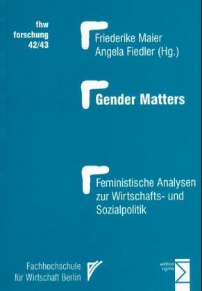 Gender Matters als Buch