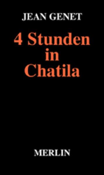 Vier Stunden in Chatila als Buch