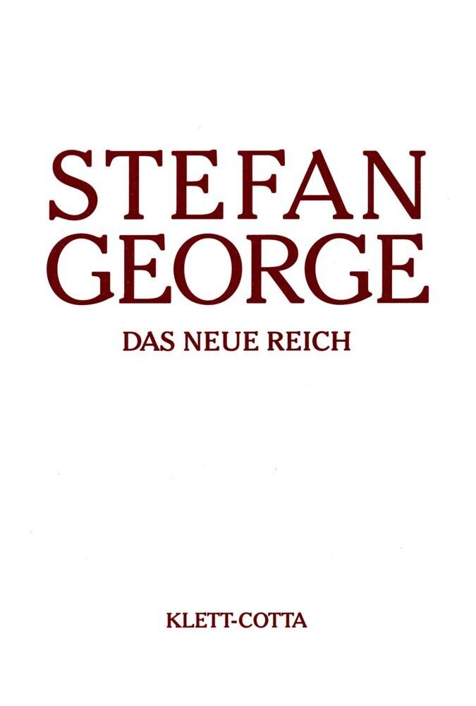 Das neue Reich als Buch