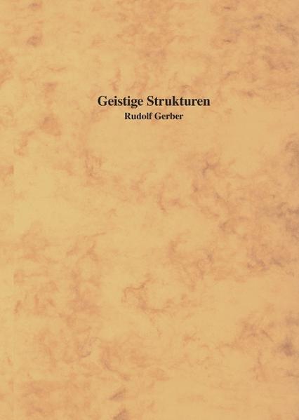 Geistige Strukturen als Buch
