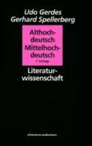 Althochdeutsch, Mittelhochdeutsch als Buch