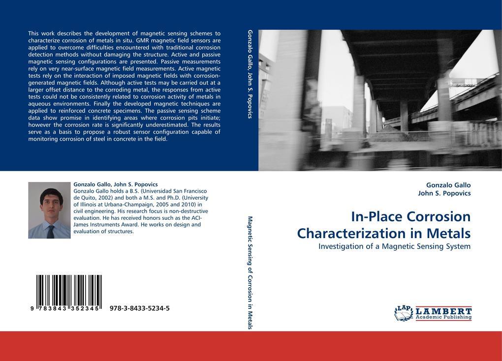 In-Place Corrosion Characterization in Metals als Buch von Gonzalo Gallo, John S. Popovics - Gonzalo Gallo, John S. Popovics