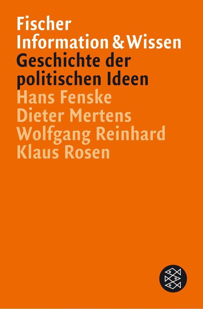 Geschichte der politischen Ideen als Taschenbuch