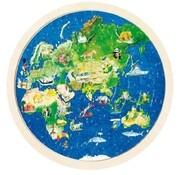 Einlegepuzzle Weltkugel (Kinderpuzzle)
