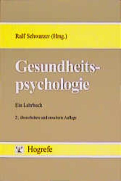 Gesundheitspsychologie als Buch