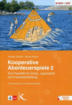 Kooperative Abenteuerspiele 2 als Buch