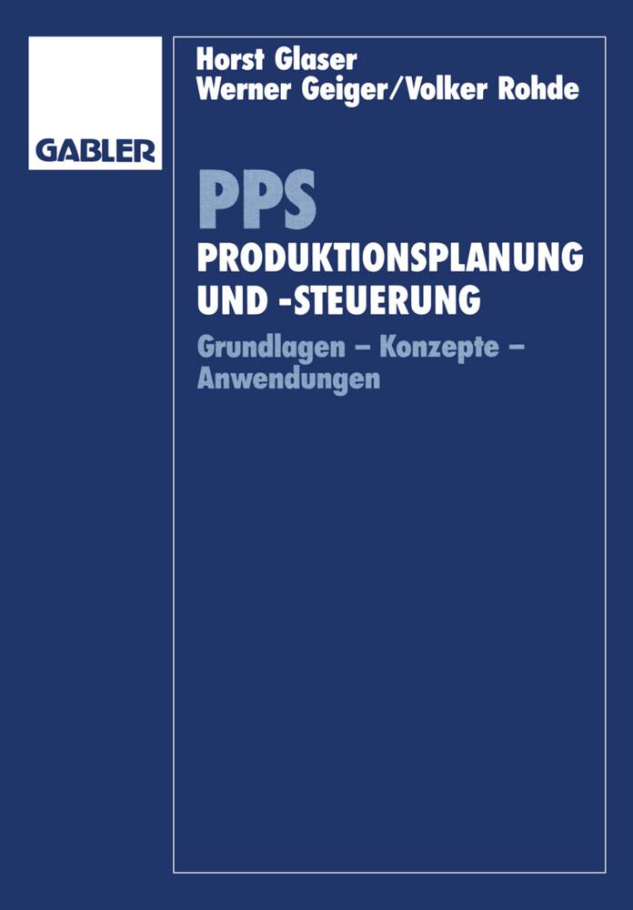 PPS Produktionsplanung und -steuerung als Buch