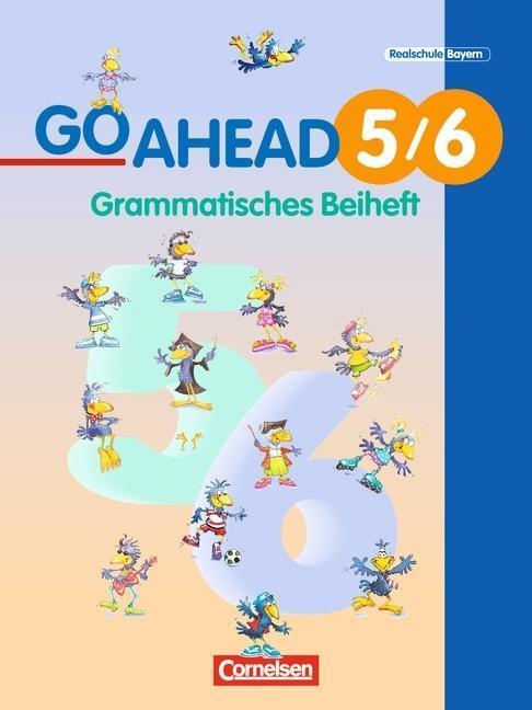 Go Ahead 5./6. Jahrgangsstufe. Neue Ausgabe. Grammatisches Beiheft als Buch