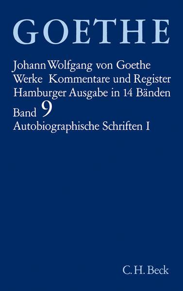 Autobiographische Schriften I als Buch