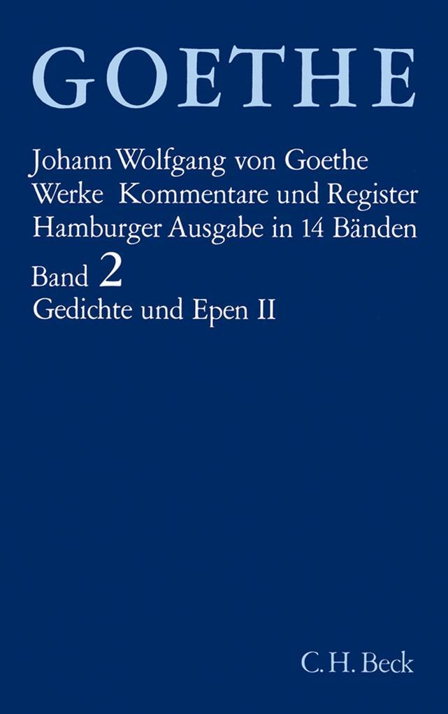Gedichte und Epen II als Buch