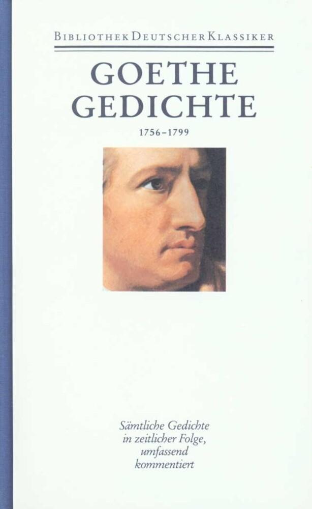 Gedichte 1756 - 1799 als Buch