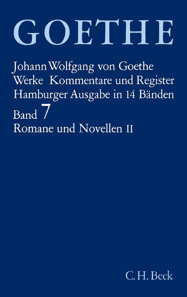 Romane und Novellen II als Buch