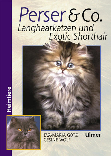 Perser und Co. Langhaarkatzen und Exotic Shorthair als Buch