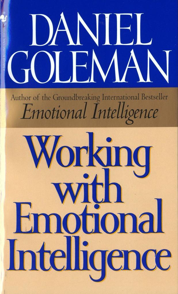 Working with Emotional Intelligence als Taschenbuch