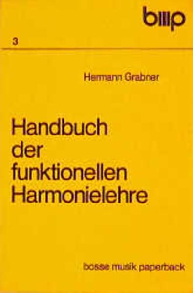 Handbuch der funktionellen Harmonielehre als Buch