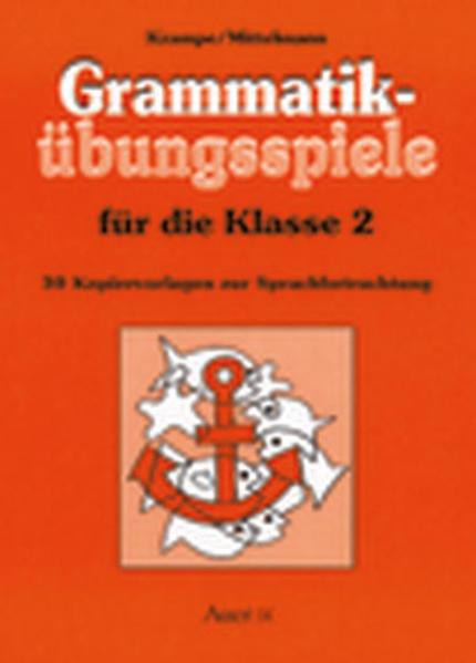Grammatik-Übungsspiele für die Klasse 2 als Buch