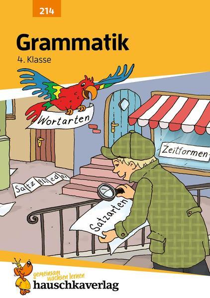 Grammatik 4. Klasse als Buch