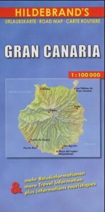 Gran Canaria 1 : 100 000. Hildebrand's Urlaubskarte als Buch