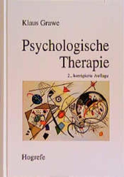 Psychologische Therapie als Buch