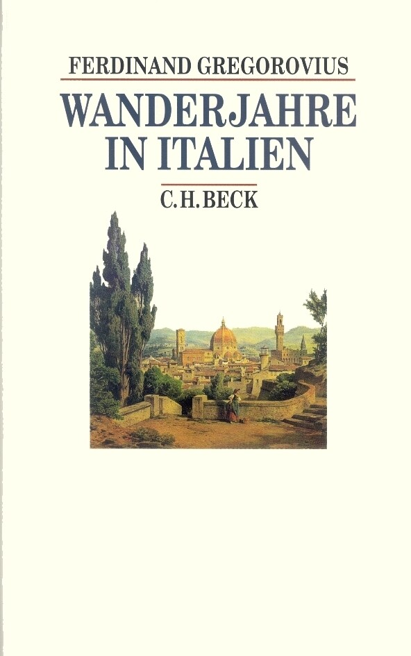 Wanderjahre in Italien als Buch
