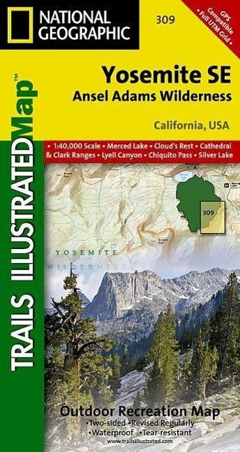 Yosemite Se, Ansel Adams Wilderness als Buch
