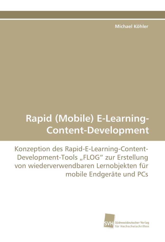 Rapid (Mobile) E-Learning- Content-Development ...