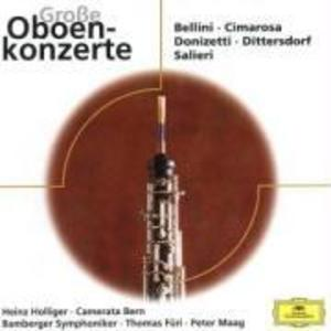 Virtuose Oboenkonzerte als CD