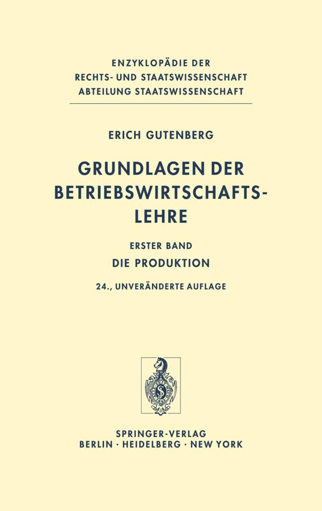 Grundlagen der Betriebswirtschaftslehre als Buch