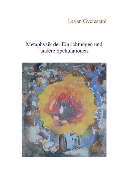 Metaphysik der Einrichtungen und andere Spekulationen als Buch
