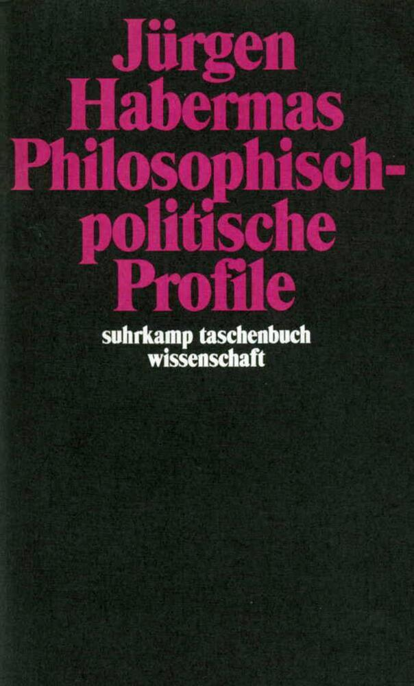 Philosophisch-politische Profile als Taschenbuch
