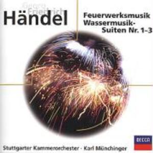 Wassermusik/Feuerwerksmusik/Suiten 1-3 als CD