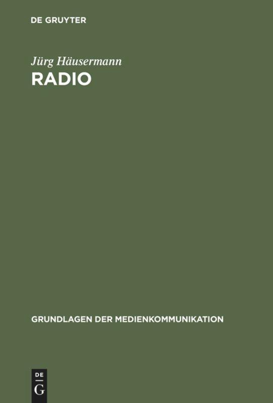 Radio als Buch