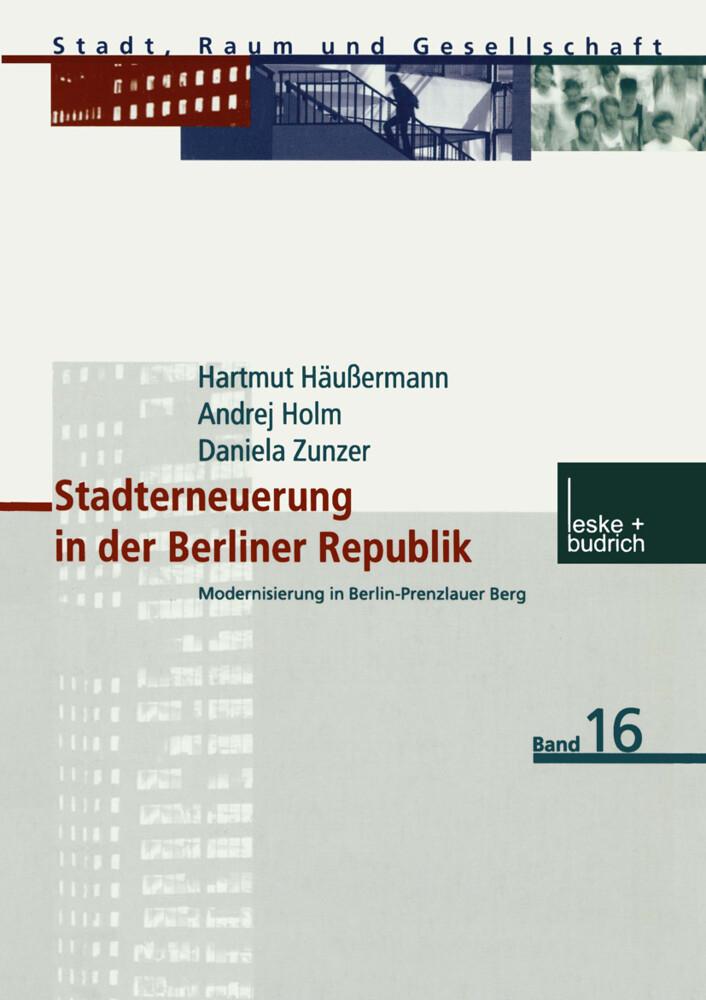 Stadterneuerung in der Berliner Republik als Buch
