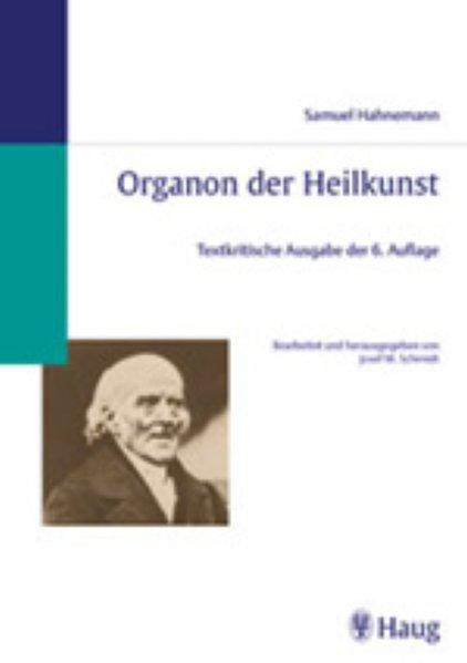 Organon der Heilkunst als Buch