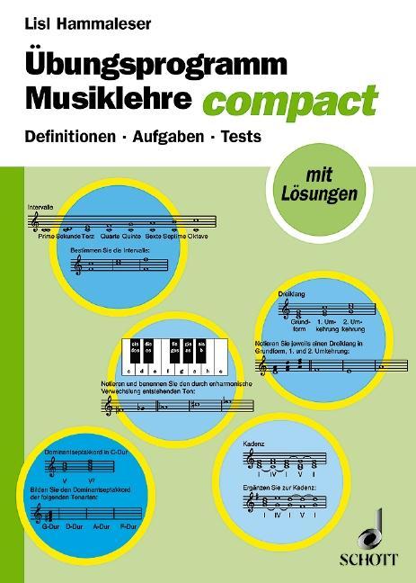 Übungsprogramm Musiklehre als Buch