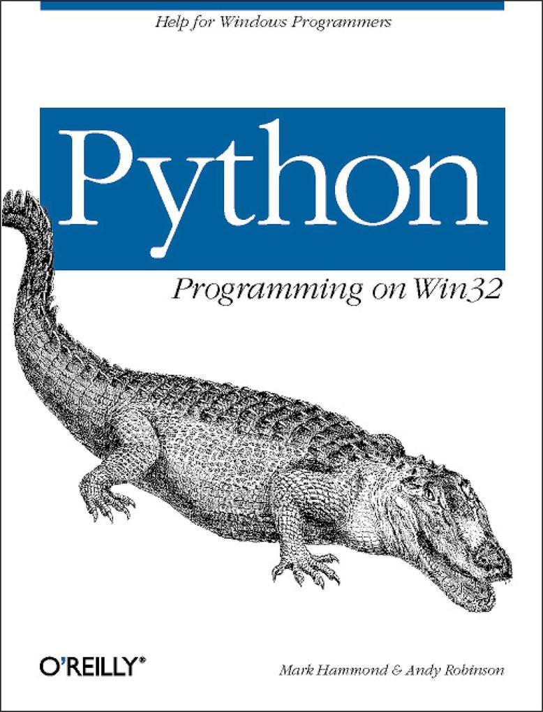 Python Programming on Win32 als Buch