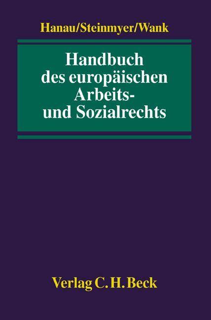 Handbuch des europäischen Arbeits- und Sozialrechts als Buch