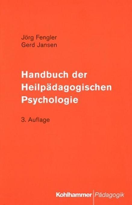 Handbuch der Heilpädagogischen Psychologie als ...
