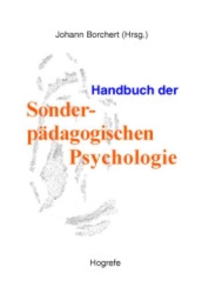 Handbuch der Sonderpädagogischen Psychologie al...