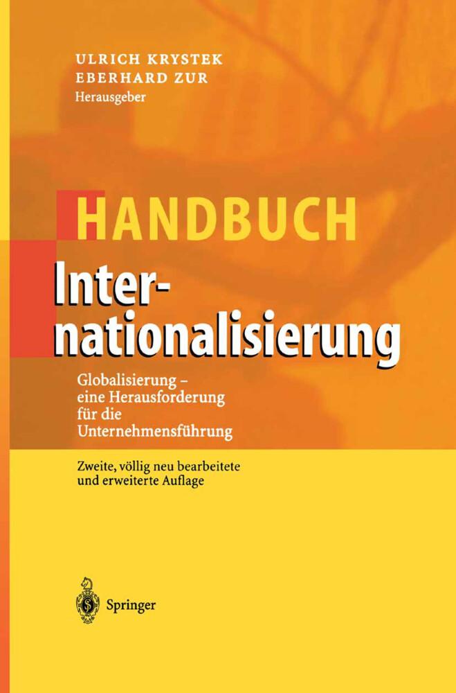 Handbuch Internationalisierung als Buch