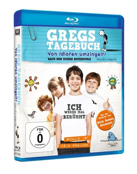 Gregs Tagebuch - Von Idioten umzingelt! als DVD
