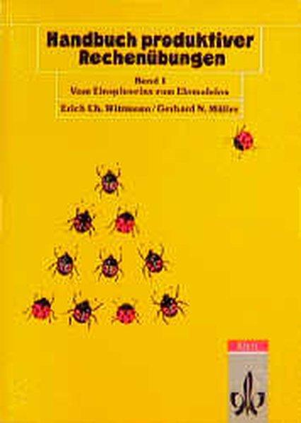 Handbuch produktiver Rechenübungen I als Buch