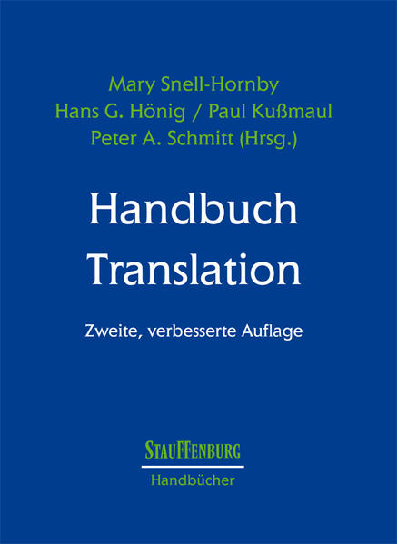 Handbuch Translation als Buch
