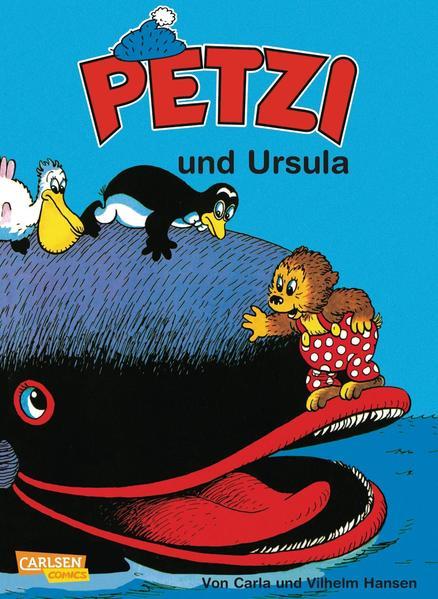 Petzi und Ursula als Buch (kartoniert)