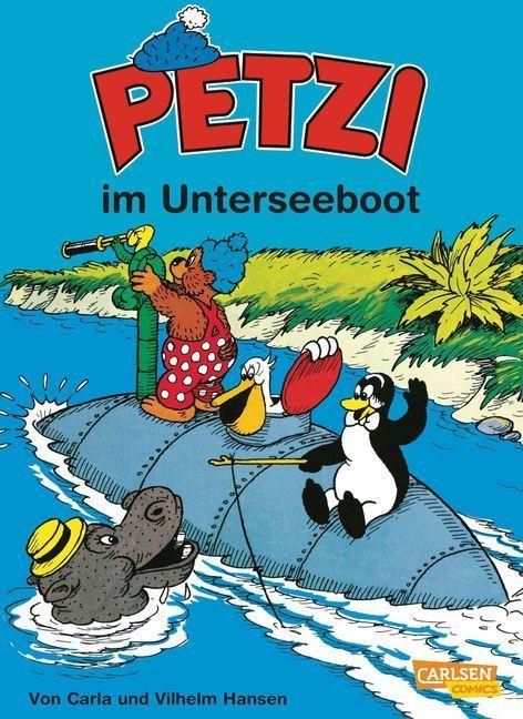 Petzi 20. Petzi im Unterseeboot als Buch