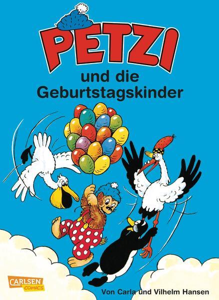 Petzi 28. Petzi und die Geburtstagskinder als Buch (kartoniert)
