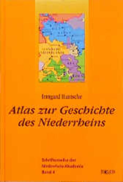 Atlas zur Geschichte des Niederrheins als Buch (gebunden)