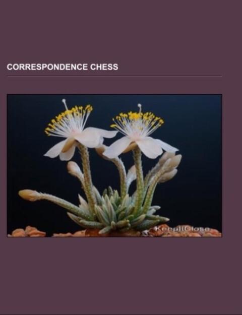 Correspondence chess als Taschenbuch von