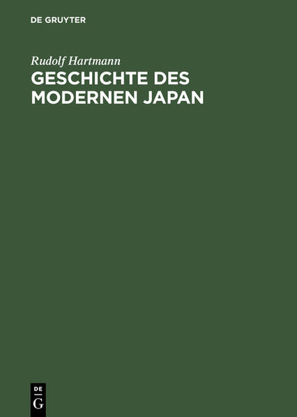 Geschichte des modernen Japan als Buch (gebunden)